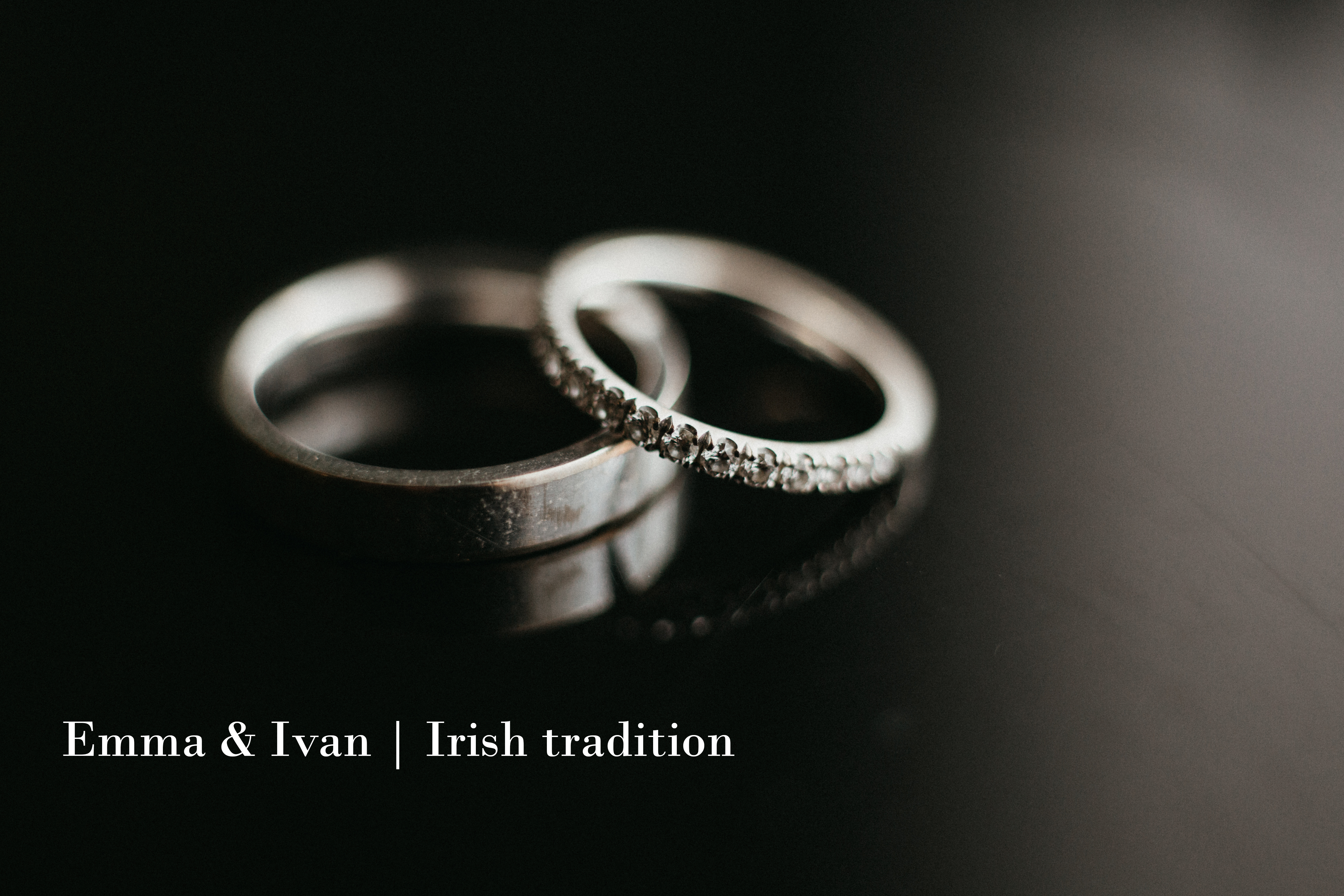 Emma & Ivan | Irish tradition